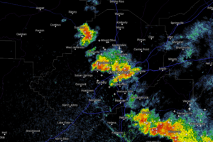 More Strong Storms Moving Through The Birmingham Metro