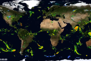 How Did Tropical Cyclone Fani Look From A Larger Global View Perspective?