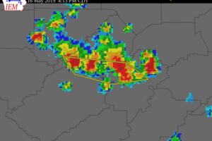 Severe T-Storm Warning For Parts Of Blount, Jefferson, St. Clair Counties Until 5:00 PM
