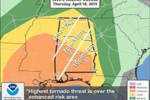 Severe Weather Outbreak In Southern States