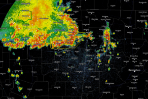 Strong MCS Will Be Entering NW Alabama Shortly