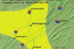 Code Yellow Air Quality Today In The Birmingham Metro Thanks In Part To Saharan Dust