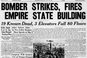 On This Date in 1945:  Bomber Strikes Empire State Building