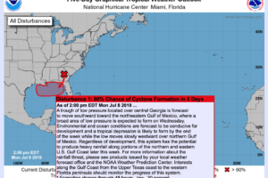 A Look At The Gulf Of Mexico Tropical Situation