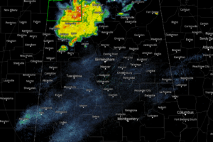 Heavy Thunderstorms Continue Across Northwest Alabama