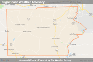 Significant Weather Advisory For Northeastern Bullock,  Southeastern Macon, Northeastern Barbour And Russell Counties Until 2:30 PM CDT