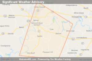 Significant Weather Advisory For Southwestern Autauga,  Northwestern Lowndes And Southeastern Dallas Counties Until 2:45 PM CDT