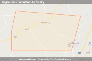 Significant Weather Advisory For Southwestern Lowndes County Until 3:00 PM CDT