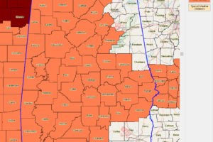 Heat Advisories Expanded Across North and Central Alabama