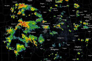Strong Storms With Very Heavy Rain Affecting North/Central Alabama