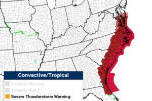 Hurricane Dorian:  Expected Impacts Along the Southeast Coast