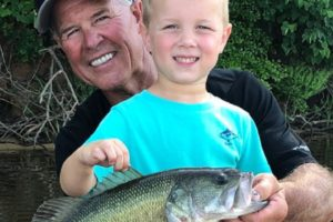Big Fish, Happy Grandson Help Selma Fisherman Win Best Black Belt Fish Photo Contest
