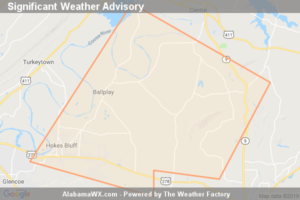 Significant Weather Advisory For East Central Etowah And Southwestern Cherokee Counties Until 4:45 PM CDT