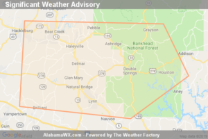 Significant Weather Advisory For Northeastern Marion And Winston Counties Until 6:00 PM CDT
