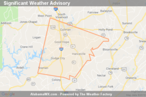 Significant Weather Advisory For Central Cullman County Until 7:15 PM CDT