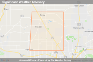 Significant Weather Advisory For Northwestern Madison County Until 3:45 PM CDT