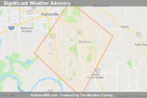 Significant Weather Advisory For South Central Madison County Until 4:45 PM CDT