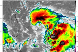 Humberto Strengthens A Little, Has Become Stationary As Of 10:00 AM