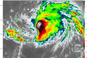 Hurricane Jerry Continues To Grow Stronger
