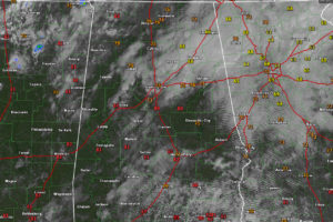 A Late Morning Look at Alabama's Weather:  Variable Clouds, Variable Temperatures