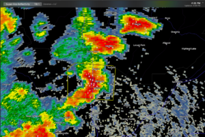 Severe Thunderstorm Warning for Northern Jefferson County until 5 p.m.