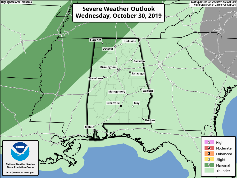 James Spann: Rain for south Alabama today, statewide ...