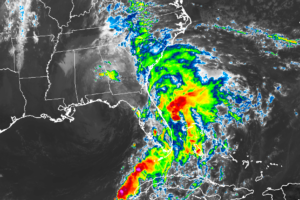 Nestor No Longer Tropical, Still Bringing Gusty Winds & Storm Surge To Florida Panhandle