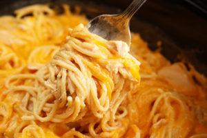 Recipe: Ultimate Crock Pot Chicken Spaghetti