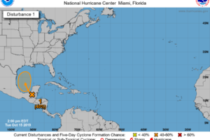 Tropical Disturbance May Bring Us Added Moisture For The Weekend