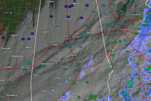 Cold, Clouds, Gusty Winds, Low Wind Chills, Even a Flake or Two of Snow for Central Alabama