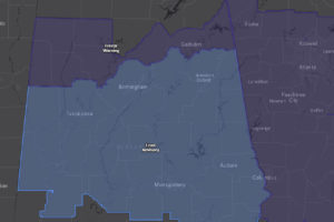Frost Advisory Upgraded to Freeze Warning for Parts of the Area; Frost Advisory Continues for Much of the Rest of Central Alabama