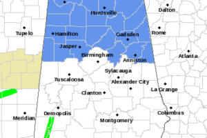 Frost Advisories Issued For All Of North Alabama & Northern Parts Of Central Alabama
