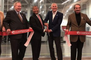 Carpenter Technology Opens Alabama Additive Manufacturing Center