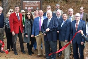 McFarland Memorial Trail Opens At Lake Lurleen State Park