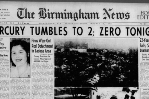 On This Date in Alabama Weather History:  The Cold Siege of 1940 Began