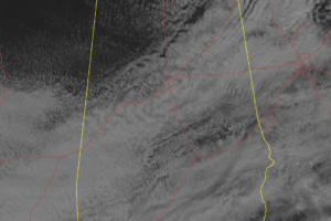 Clearing Skies In The Northwestern Parts At Midday, Pesky Clouds Continue To Linger For The Rest