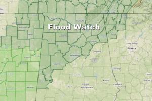 Widespread, Soaking Rains For Alabama
