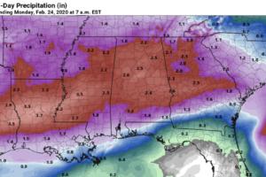 Rain Returns To Alabama Tonight