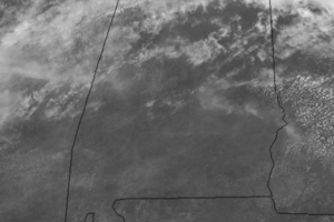 A Mix of Sun and Clouds on this Saturday Afternoon