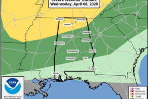 Rain Tapers Off Tonight; Strong Storms Early Thursday Morning