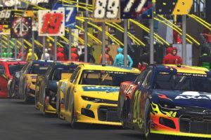 Virtual Racing Entertaining NASCAR Fans, Drivers During COVID-19 Pandemic