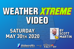 Weather Xtreme: Mainly Dry Today & Staying Dry Through Much of Next Week