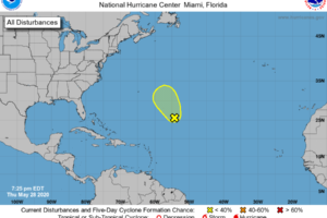 Some Tropical Mischief Possible Over the Atlantic This Weekend
