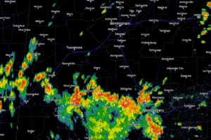 Early Afternoon Radar Check
