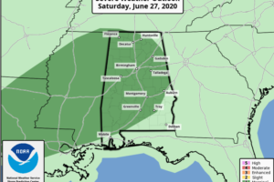 Strong Storms Possible this Afternoon; Air Quality Alert