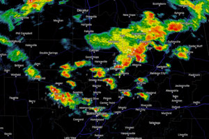 1PM Update: Storms Developing Fast