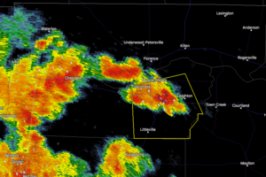 EXPIRED: Severe T-Storm Warning for Colbert Co. Until 4:15 pm