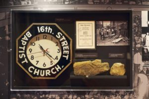 Birmingham's 16th Street Baptist Church Exhibits Tell Story Of Hurting, Healing