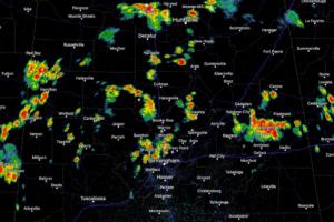 Mid-Afternoon Radar Update…