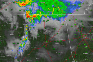 Storms Over West, North Alabama